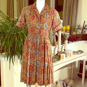 ❤️ Stunning Vintage 50's Handmade Dress❤️
